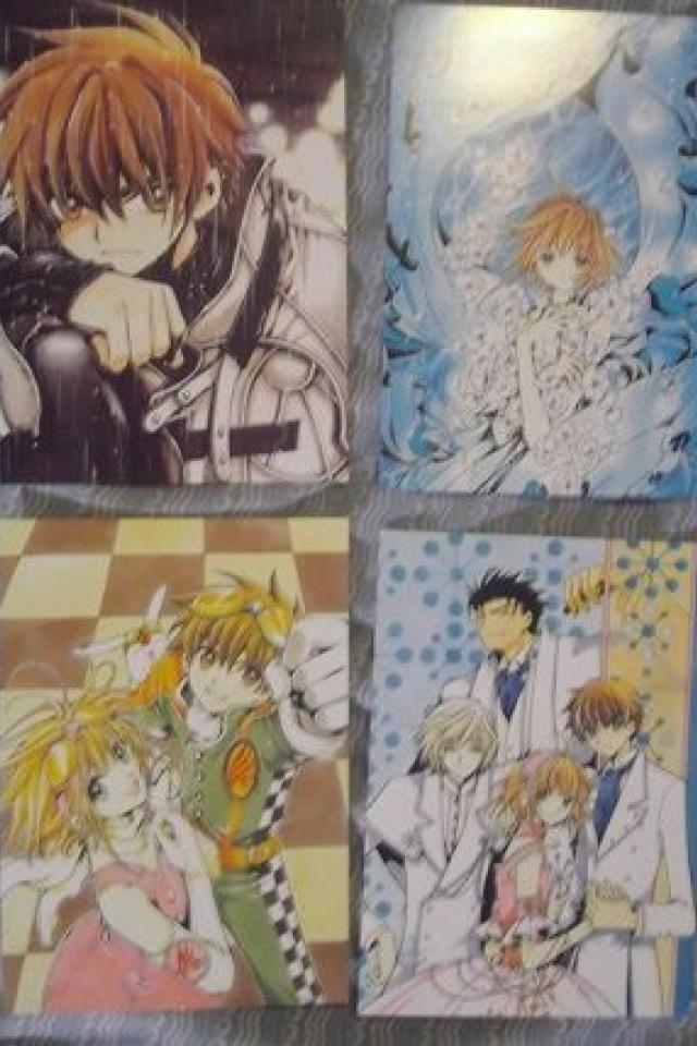 Tsubasa Reservoir Chronicle postcard collector's set (48) Large Photo