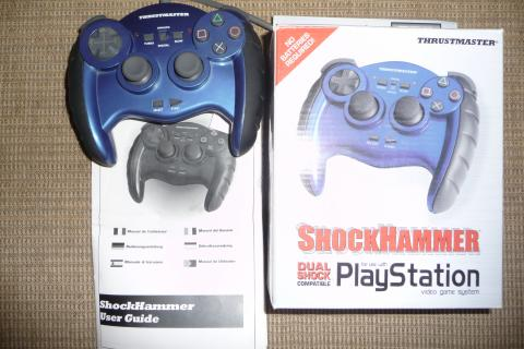 THRUSTMASTER SHOCKHAMMER Controller for Playstation Photo