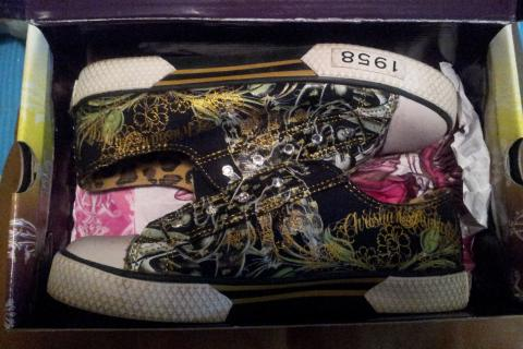 Christian Audigier shoes (Exclusive) Photo