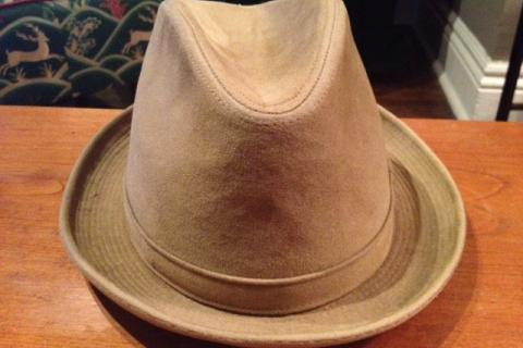 VINTAGE LANNING SHORT BRIMMED FEDORA Photo