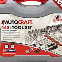 Autocraft 140 Piece Tool Set  Photo