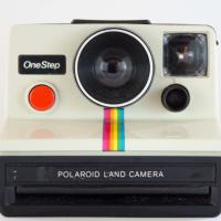 Vintage Polaroid One Step Instant Camera Photo