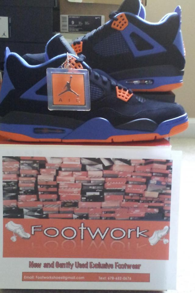 Air Jordan 4 Retro Cavs/Knicks Large Photo