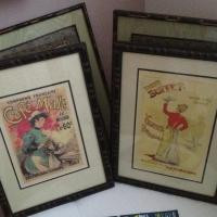 Pair of French prints Photo