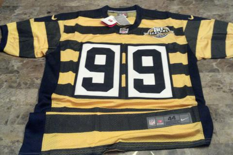 Pittsburgh Steelers 2012 Brett Keisel Nike jersey brand new - $65 (2012 Nike Authentic jersey) Photo