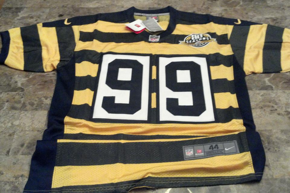 Pittsburgh Steelers 2012 Brett Keisel Nike jersey brand new - $65 (2012 Nike Authentic jersey) Large Photo