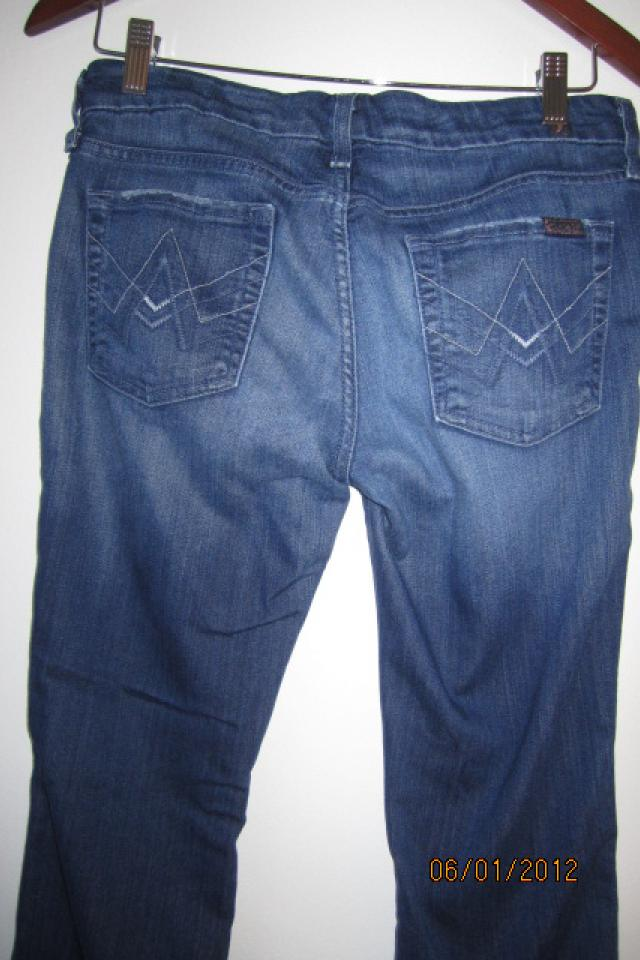 Seven  for all Mankind A Pocket womens jeans Bootleg Large Photo
