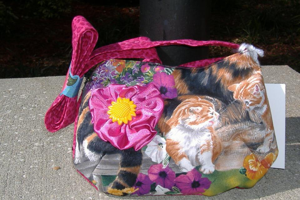 Cat's at play purse  Large Photo
