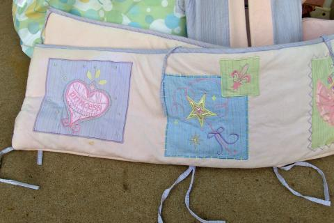 Baby Items for Girl (Princess Themed) Photo