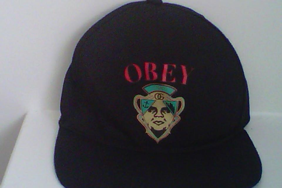 OBEY Snapback Hat *rare* Large Photo