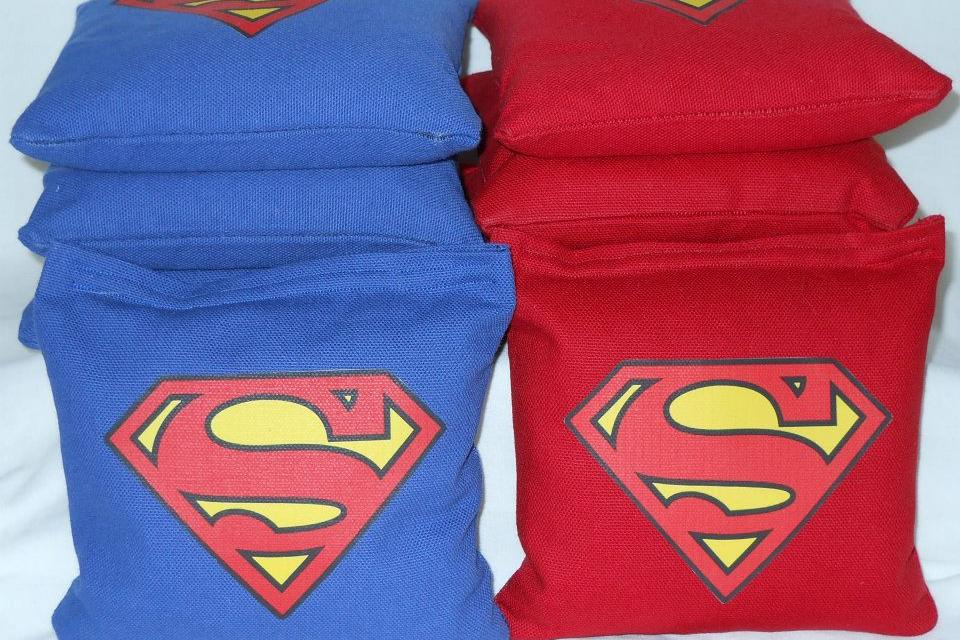 Superman Cornhole Bags Large Photo