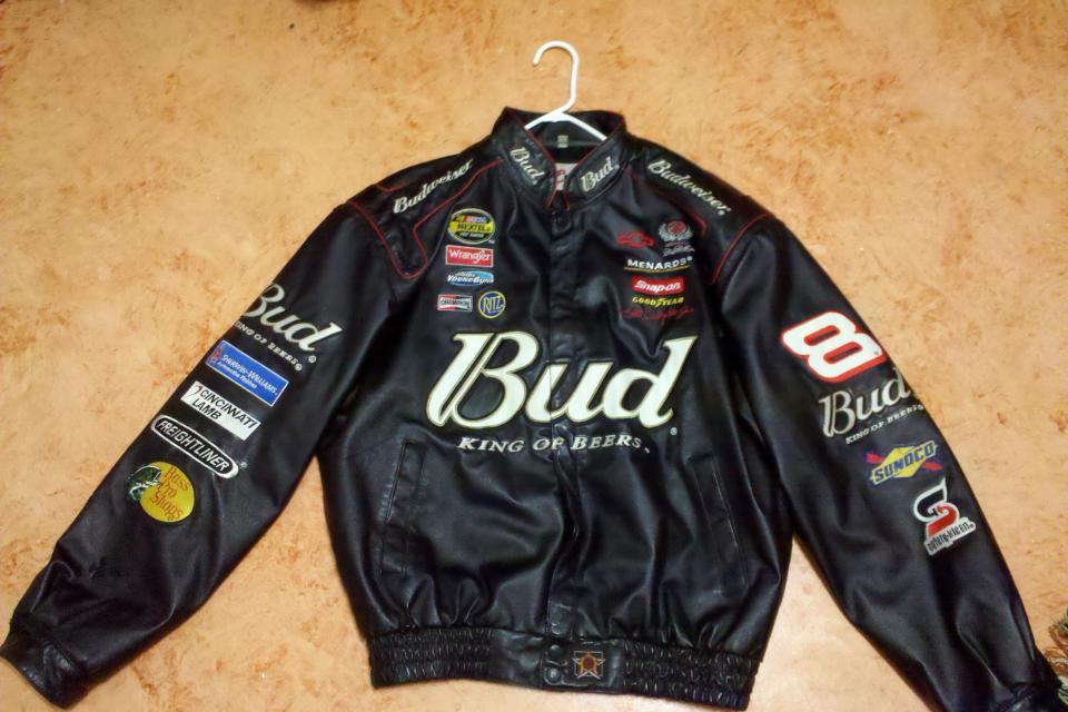Dale earnhardt jr leather jacket worth