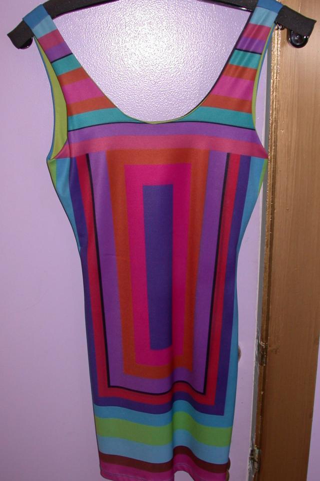Retro Print Nice dress Photo