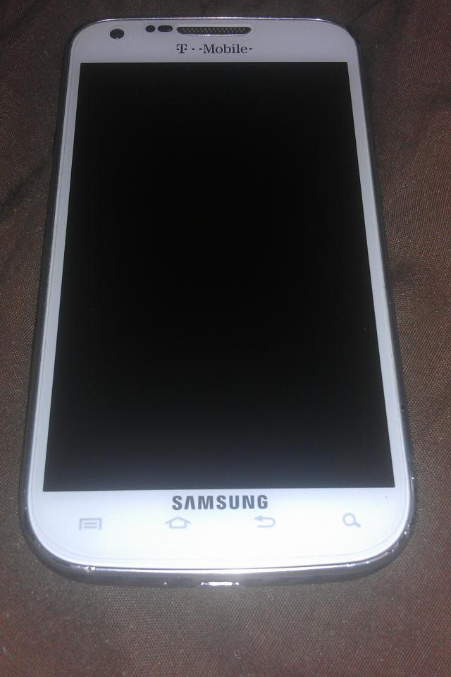 4g White T-mobile Samsung Galaxy S2 Photo