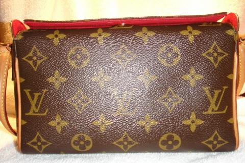 authentic Louis Vuitton Recital Pouchette Photo
