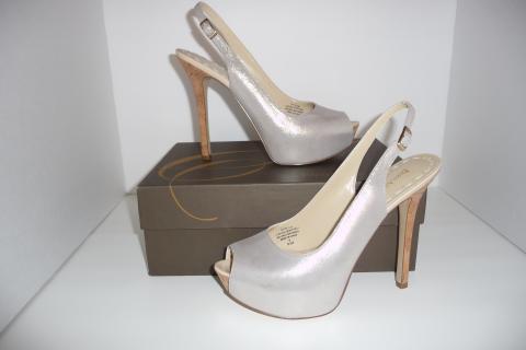 Enzo Angiolini Shoes, Tolten Peep Toe Platform Pumps,women shoes Size 8.5 M Photo