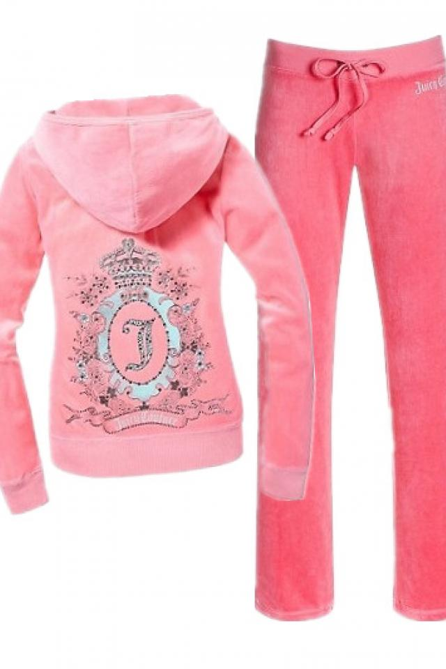 Juicy Couture Cameo Frame tracksuit/PINK Large Photo