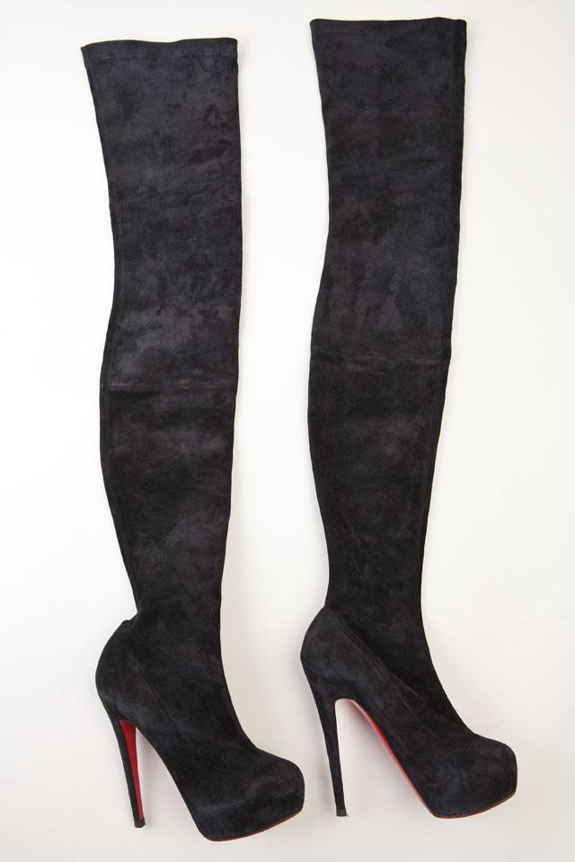 Christian Louboutin Knee Boots Photo