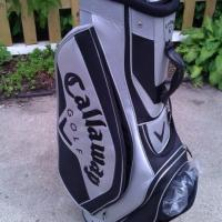 BRAND NEW CALLAWAY GOLF BAG W/ MATCHING UMBRELLA Photo