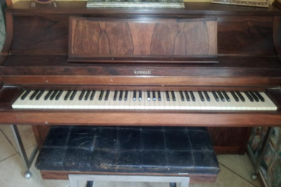 Upright Kimball Piano Large Photo