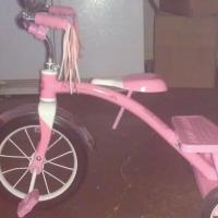 RADIO FLYER PINK TRICYCLE Photo