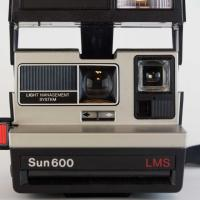 Polaroid Sun 600 LMS Instant Film Camera- Working! Photo
