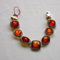 Silver fashion bracelet  Photo