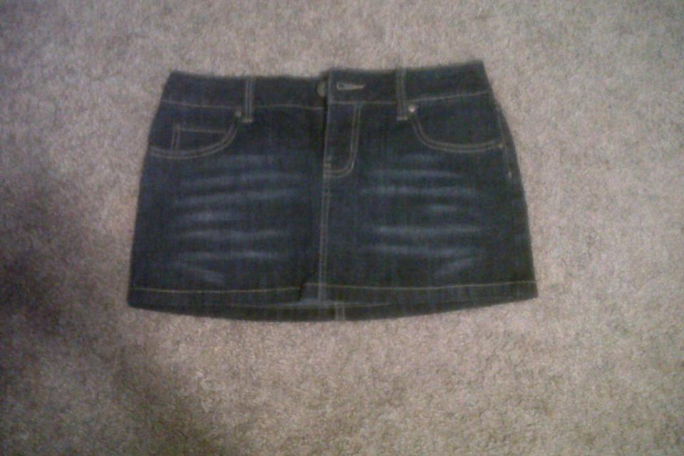 Demin Skirt Large Photo