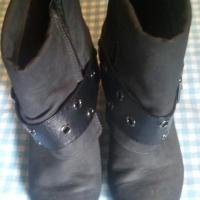 DECREE Womens Ankle Buckle Boots Sz 9M Photo