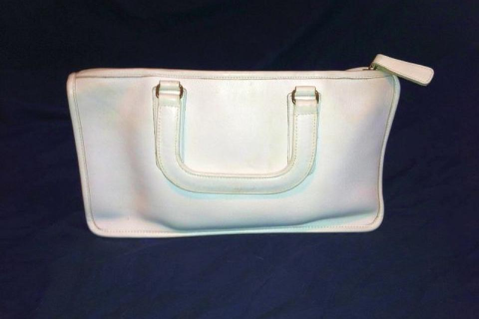 Vintage Bonnie Cashin era COACH Purse, White Large Photo