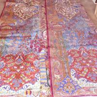 Persian Hand Knotted Rug Photo