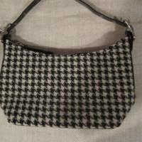 Authentic Coach Purse Wool & Tweed! Great Deal! Photo