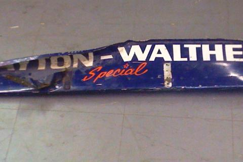 Indycar Wickerbill from 1973 Salt