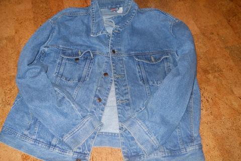 Men's X-Large Denim Jacket Photo