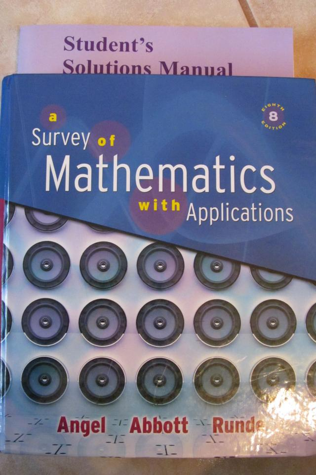 A survey of mathematics with applications  Photo