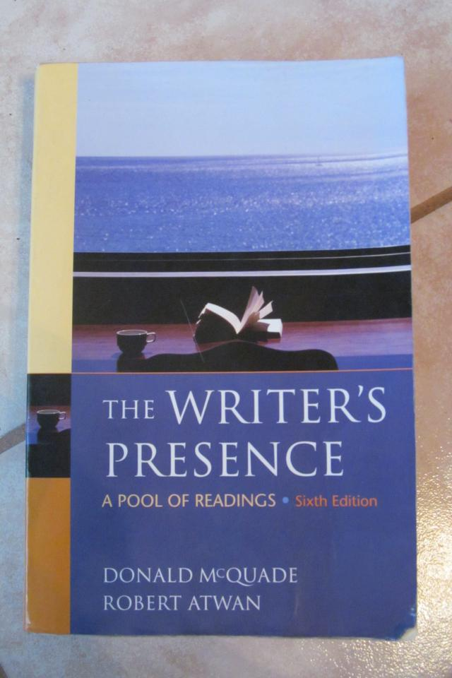 The Writer's Presence  Photo