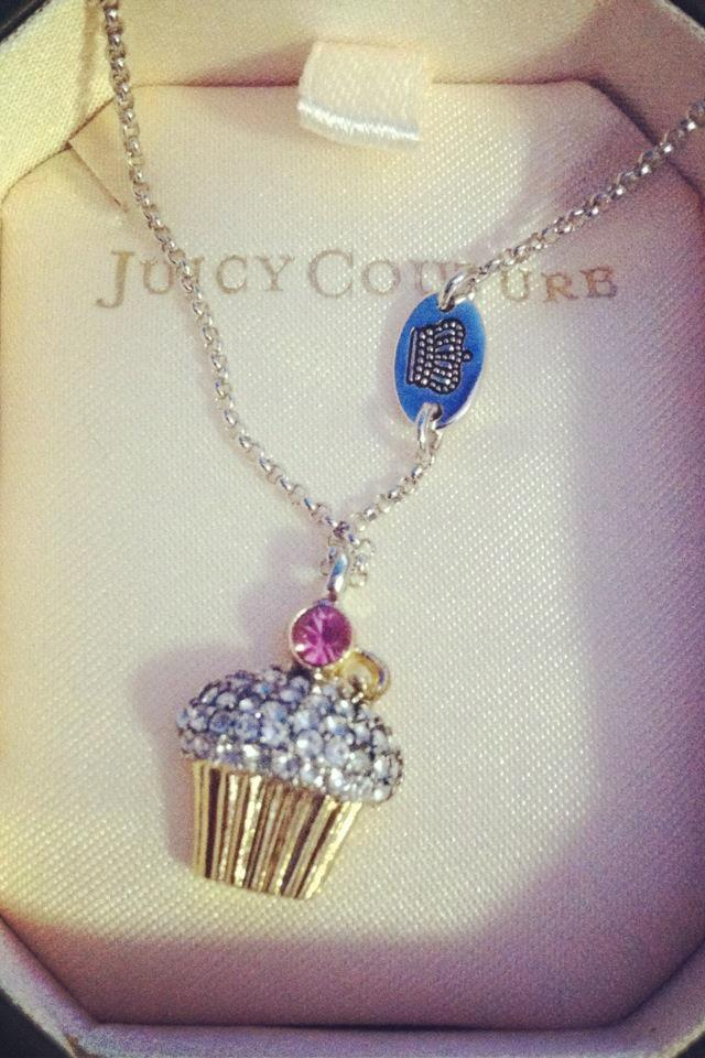Juicy Couture Cupcake Necklace Large Photo