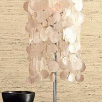 West Elm Capiz Seashell Table Lamp Photo