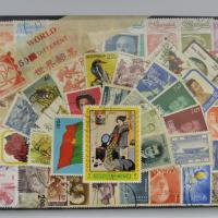 World 50 different stamps Photo