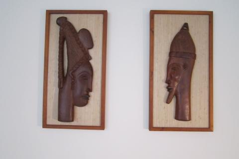 mid century african plaques Photo