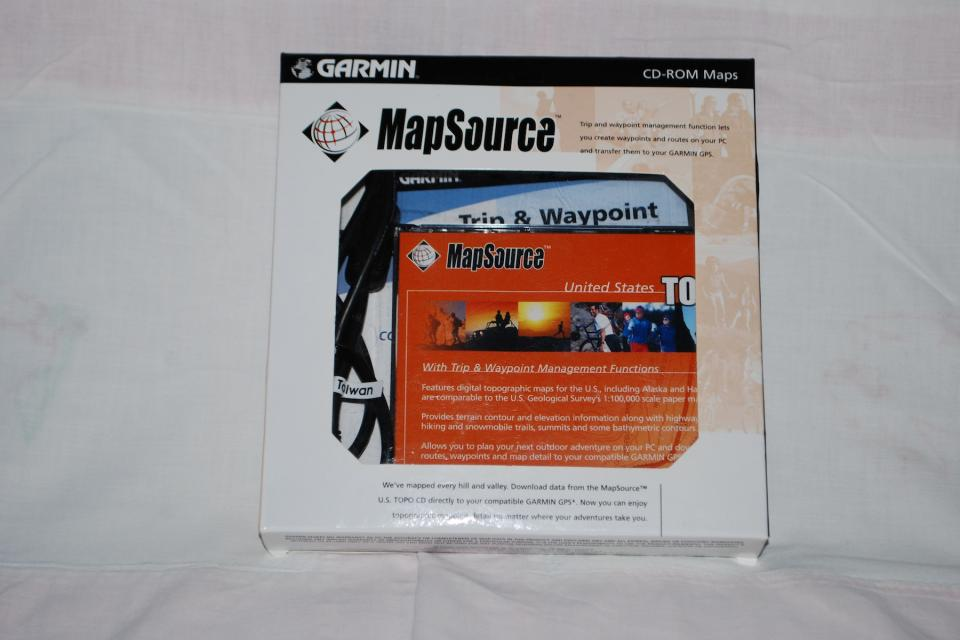 Garmin MapSource TOPO V3.02 Large Photo