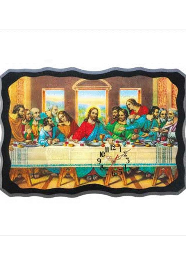 Last Supper Wall Clock Photo