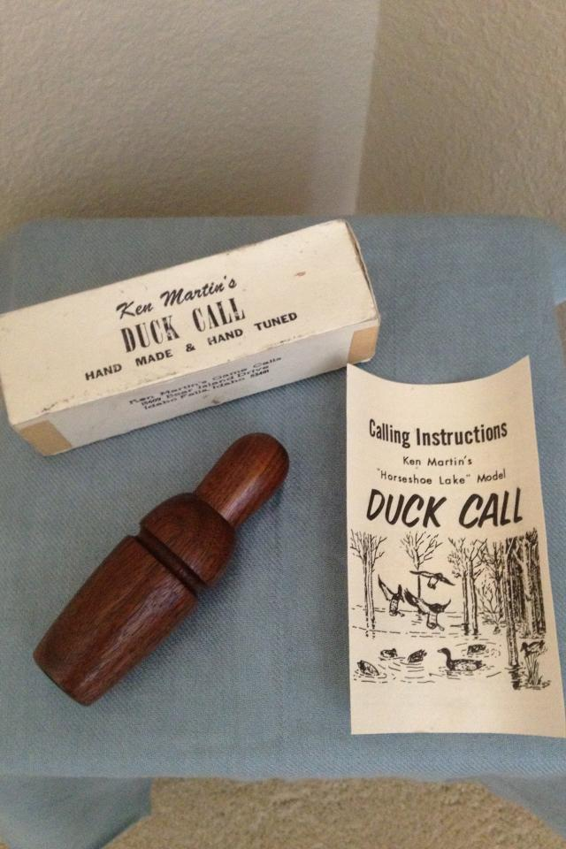 Ken Martin Hand Made Duck Call Photo