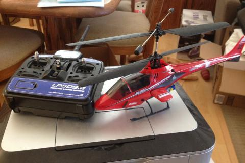 Blade cx2 rc helicopter.  Photo