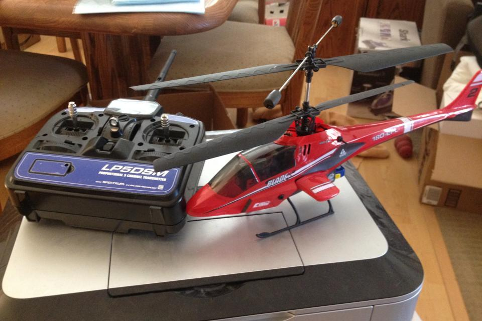 Blade cx2 rc helicopter.  Large Photo