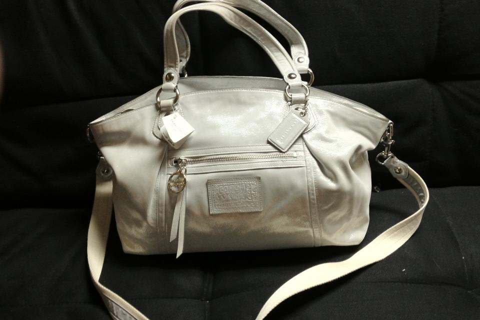 Coach stardust rocker NWT Large