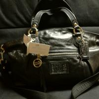 Coach NWT rocker gunmetal  Photo