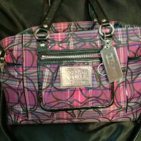 Coach rocket plaid tartan NWOT Photo