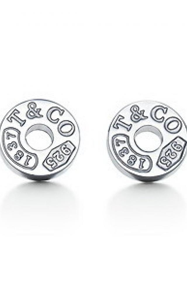 tiffany's circle earrings Photo