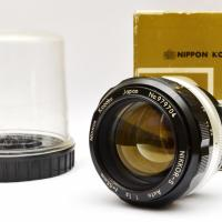 Nikon Nikkor-S 55mm f/1.2 lens  Photo